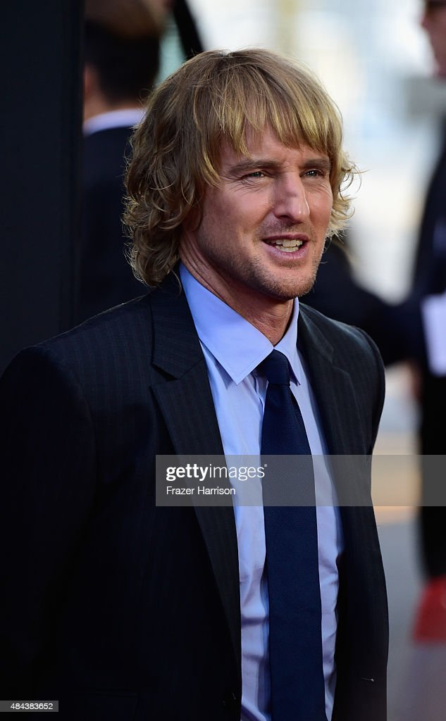 Actor Owen Wilson arrives at the Premiere Of The Weinstein Company's 'No Escape' at Regal Cinemas L.A. Live on August 17, 2015 in Los Angeles, California.