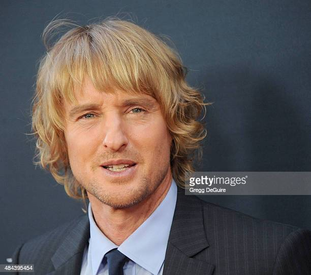 Actor Owen Wilson arrives at the premiere of The Weinstein Company's No Escape at Regal Cinemas LA Live on August 17 2015 in Los Angeles California