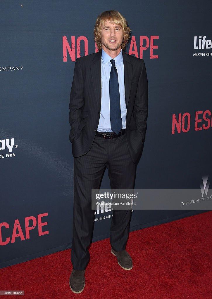 "Premiere Of The Weinstein Company's ""No Escape"""