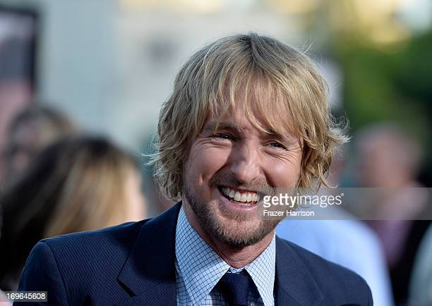 Actor Owen Wilson arrives at the Premiere Of Twentieth Century Fox's The Internship on May 29 2013 in Westwood California