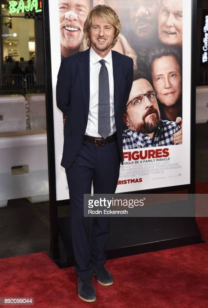 Actor Owen Wilson arrives at the premiere of Warner Bros Pictures' Father Figures at TCL Chinese Theatre on December 13 2017 in Hollywood California