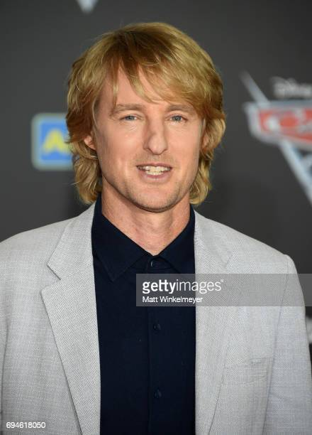 Actor Owen Wilson attends the premiere of Disney and Pixar's Cars 3 at Anaheim Convention Center on June 10 2017 in Anaheim California