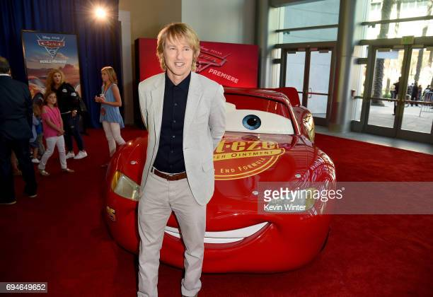 Actor Owen Wilson attends the premiere of Disney and Pixar's 'Cars 3' at Anaheim Convention Center on June 10 2017 in Anaheim California