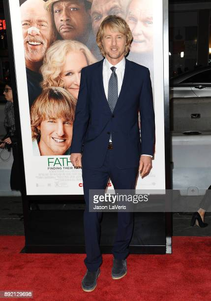 Actor Owen Wilson attends the premiere of 'Father Figures' at TCL Chinese Theatre on December 13 2017 in Hollywood California
