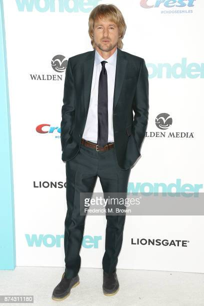 Actor Owen Wilson attends the Premiere of Liongate's Wonder at the Regency Village Theatre on November 14 2017 in Westwood California