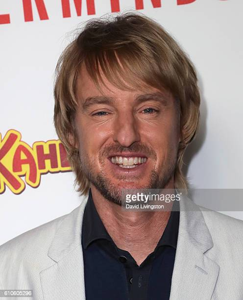 Actor Owen Wilson attends the premiere of Relativity Media's 'Masterminds' at TCL Chinese Theatre on September 26 2016 in Hollywood California