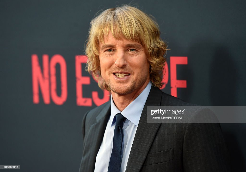 Actor Owen Wilson attends the premiere of the Weinstein Company's 'No Escape' at Regal Cinemas L.A. Live on August 17, 2015 in Los Angeles, California.