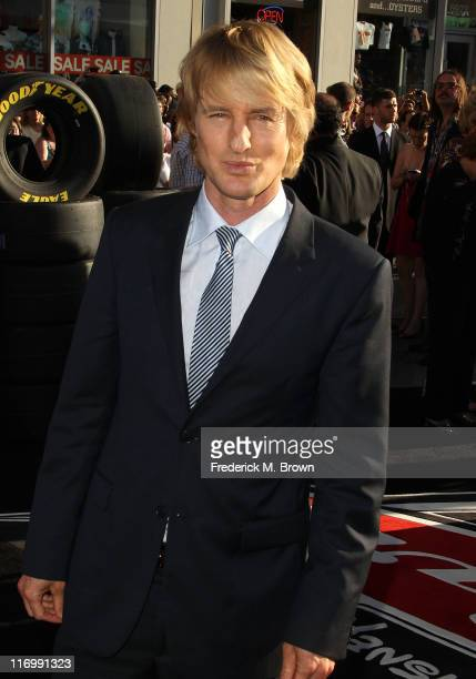 Actor Owen Wilson attends the Premiere of Walt Disney Pictures' Cars 2 at the El Capitan Theatre on June 18 2011 in Hollywood California