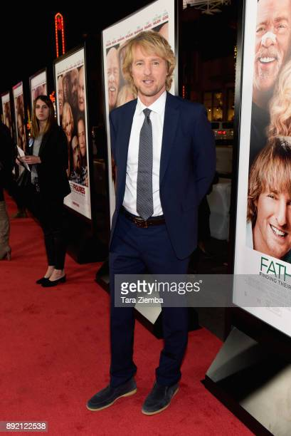 Actor Owen Wilson attends the premiere of Warner Bros Pictures' 'Father Figures' at TCL Chinese Theatre on December 13 2017 in Hollywood California