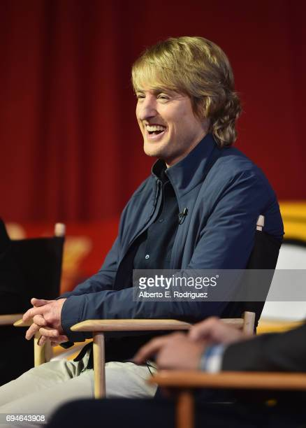 Actor Owen Wilson speaks at the 'Cars 3' Press Conference at Anaheim Convention Center on June 10 2017 in Anaheim California