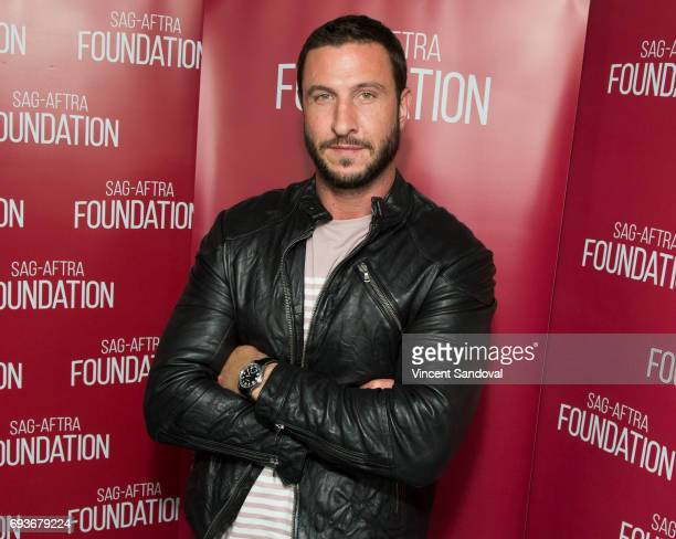 Actor Pablo Schreiber attends SAGAFTRA Foundation's Conversations with American Gods at SAGAFTRA Foundation Screening Room on June 7 2017 in Los...