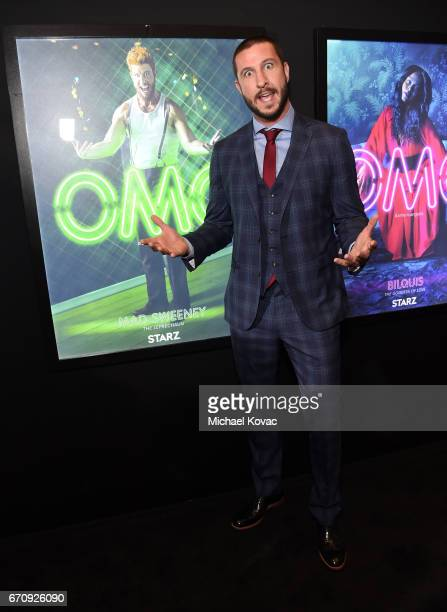 """Actor Pablo Schreiber attends the """"American Gods"""" premiere at ArcLight Hollywood on April 20, 2017 in Los Angeles, California."""