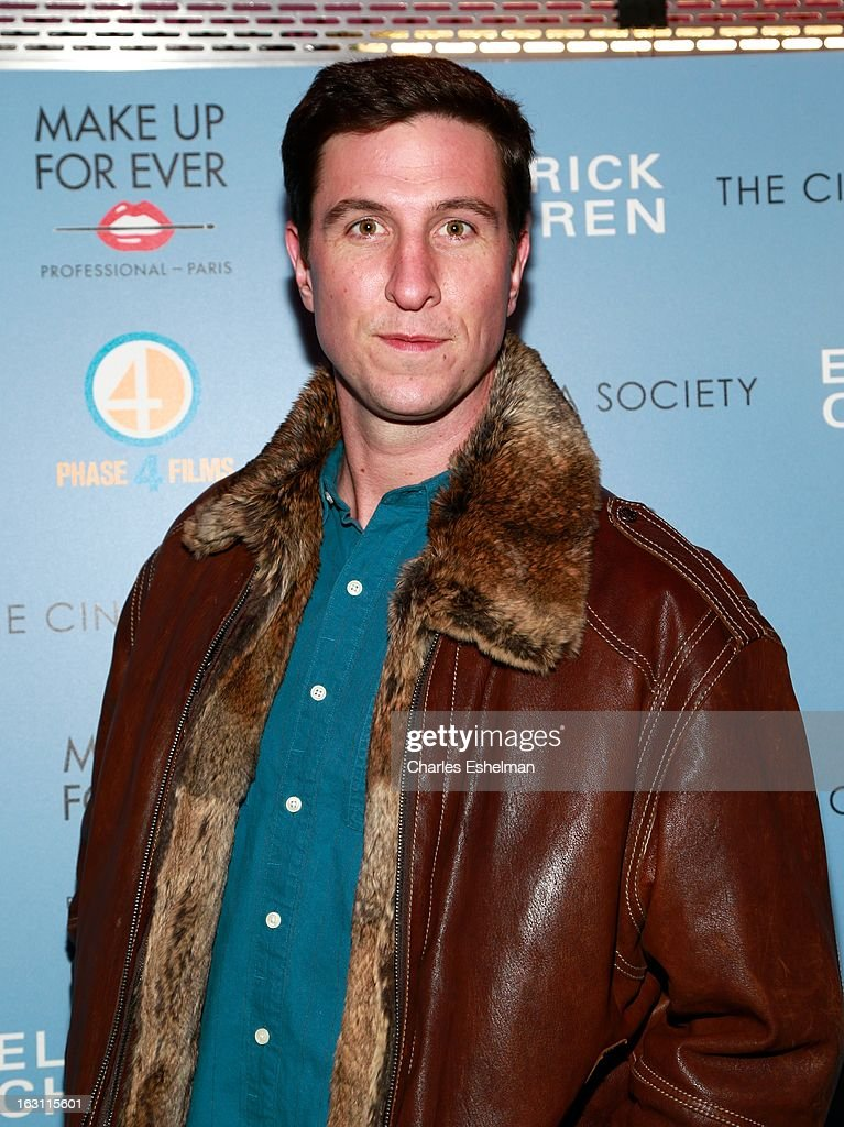 Actor Pablo Schreiber attends The Cinema Society & Make Up For Ever host a screening of 'Electrick Children' at IFC Center on March 4, 2013 in New York City.