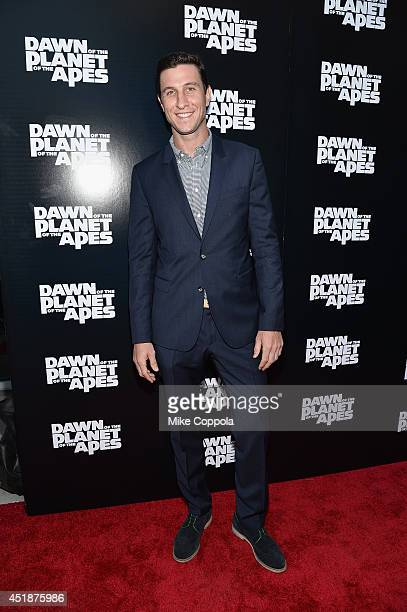 Actor Pablo Schreiber attends the Dawn Of The Planets Of The Apes premiere at Williamsburg Cinemas on July 8 2014 in New York City