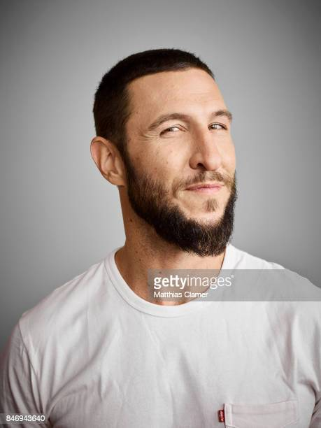 Actor Pablo Schreiber from 'American Gods' is photographed for Entertainment Weekly Magazine on July 22 2016 at Comic Con in the Hard Rock Hotel in...