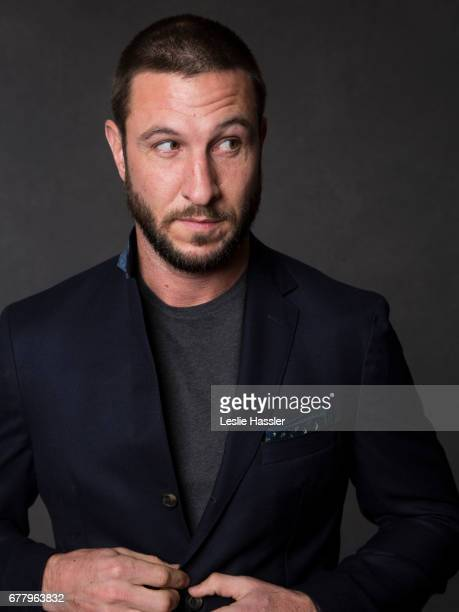 Actor Pablo Schreiber is photographed on April 22 2017 in New York City
