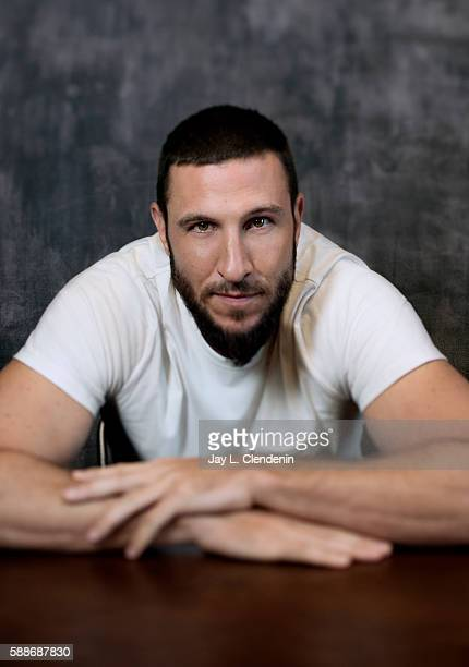 Actor Pablo Schreiber of 'American Gods' is photographed for Los Angeles Times at San Diego Comic Con on July 22 2016 in San Diego California