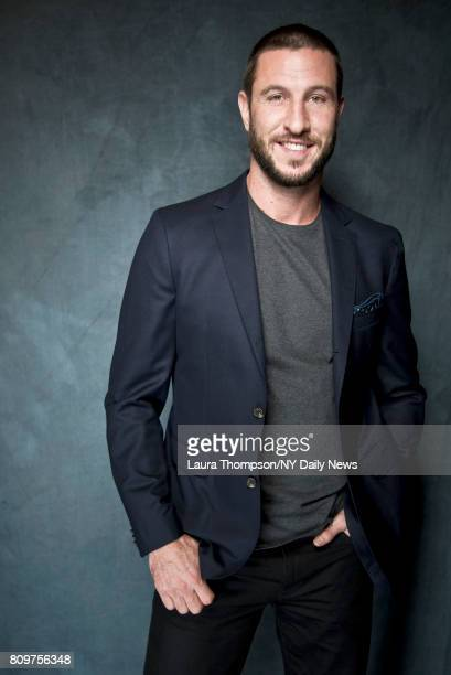 Actor Pablo Schreiber photographed for NY Daily News on April 22 in New York City