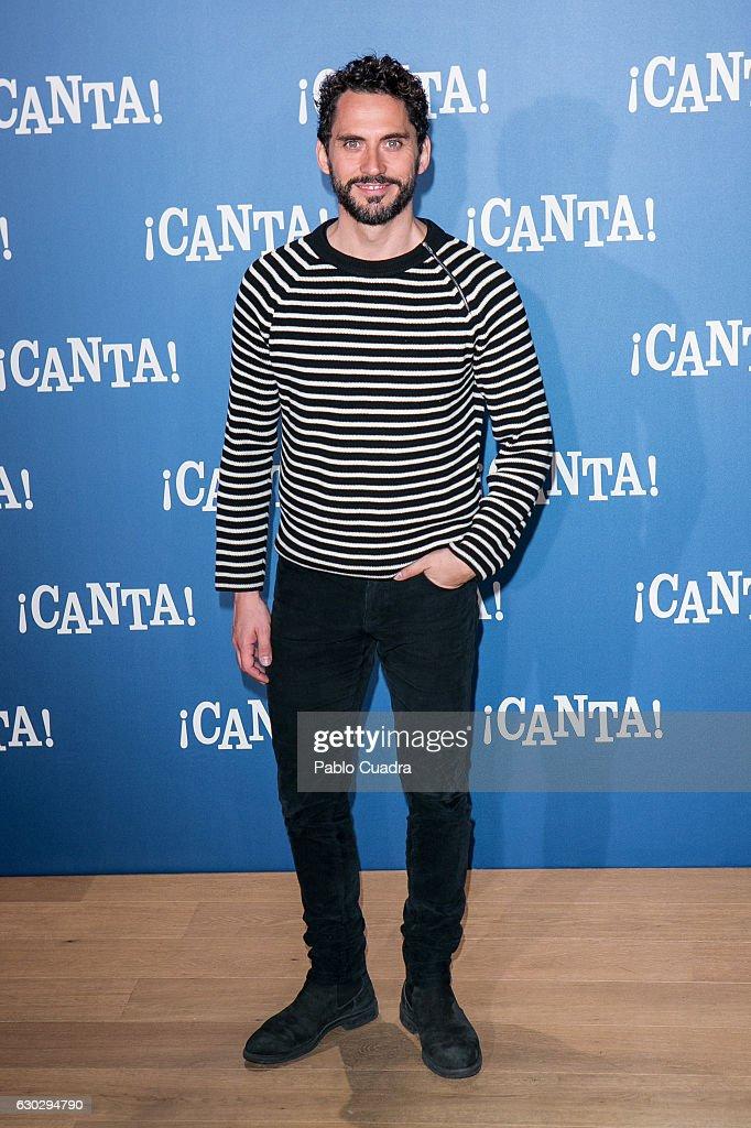 'Canta' Photocall Madrid