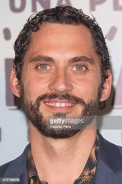 Actor Paco Leon attends 'Requisitos para ser una persona normal' premiere at Palafox cinema on June 3 2015 in Madrid Spain