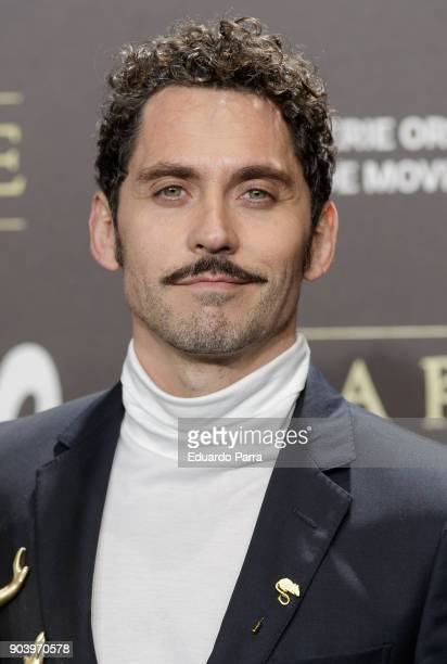 Actor Paco Leon attends the 'La peste' premiere at Callao cinema on January 11 2018 in Madrid Spain