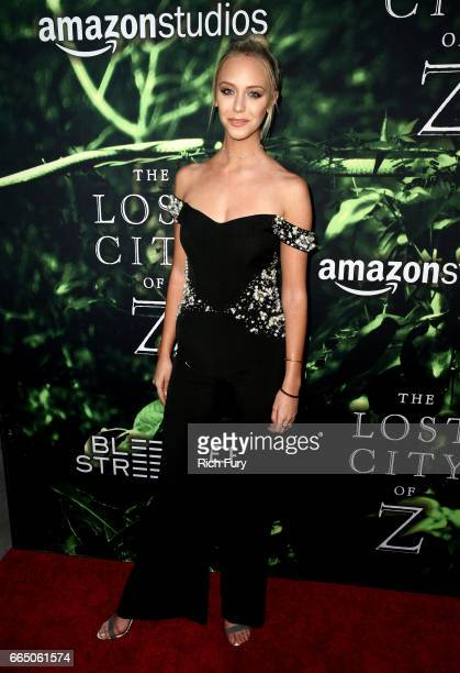 Actor Paige Mobley attends the premiere of Amazon Studios' 'The Lost City Of Z' at ArcLight Hollywood on April 5 2017 in Hollywood California