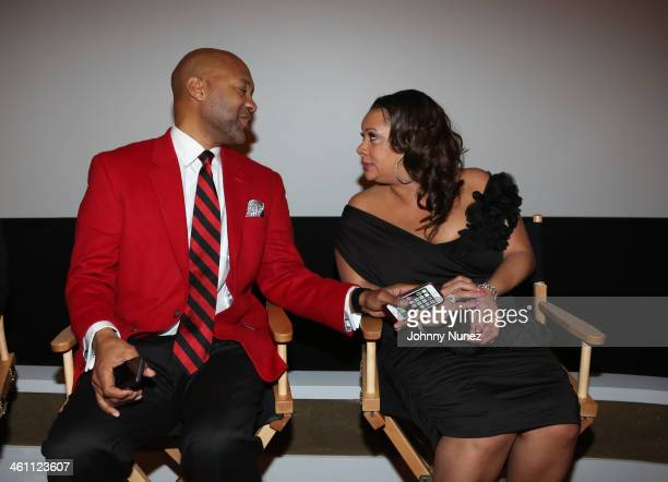 "Actor Palmer Williams Jr. And actress Patrice Lovely attend the ""The Have And Have Nots"" & ""Love Thy Neighbor"" Premiere at Tribeca Grand Hotel on..."