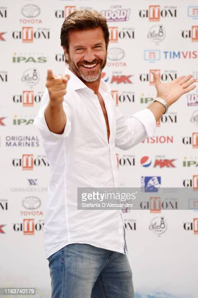 Actor Paolo Conticini attends Giffoni Film Festival 2019 on July 23 2019 in Giffoni Valle Piana Italy