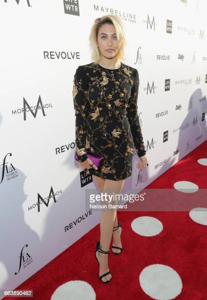 Actor Paris Jackson attends the Daily Front Row's 3rd Annual Fashion Los Angeles Awards at Sunset Tower Hotel on April 2 2017 in West Hollywood...