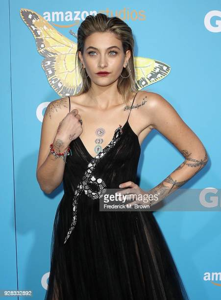 Actor Paris Jackson attends the world premiere of 'Gringo' from Amazon Studios and STX Films at Regal LA Live Stadium 14 on March 6 2018 in Los...