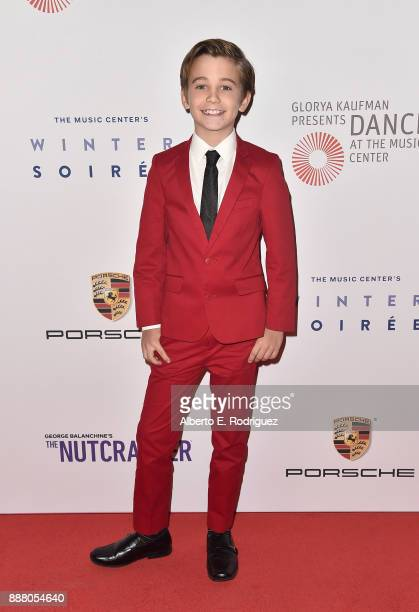 Actor Parker Bates attends the premiere of The New George Balanchine's The Nutcracker at The Dorothy Chandler Pavillion at the Music Center on...