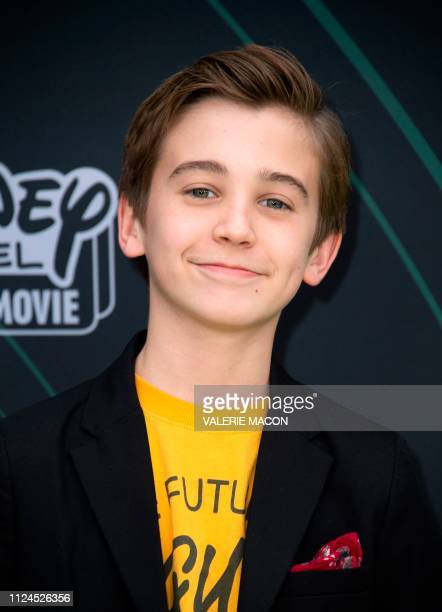 Actor Parker Bates attends the world premiere of Disney channel original movie 'Kim Possible' in North Hollywood California on February 12 2019