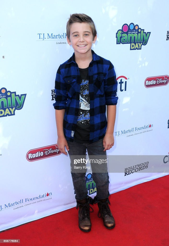 Actor Parker Bates attends T.J. Martell Foundation Family Day at The Grove on October 7, 2017 in Los Angeles, California.
