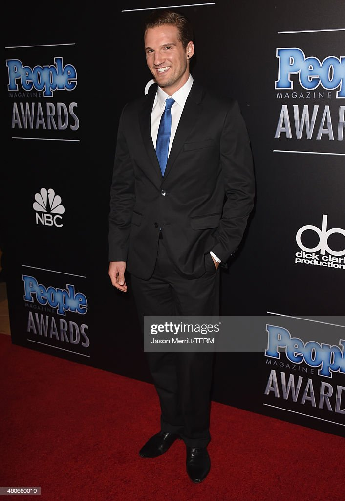 Actor Parker Hurley attends the PEOPLE Magazine Awards at The Beverly Hilton Hotel on December 18, 2014 in Beverly Hills, California.
