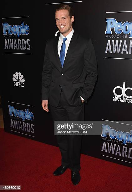 Actor Parker Hurley attends the PEOPLE Magazine Awards at The Beverly Hilton Hotel on December 18 2014 in Beverly Hills California