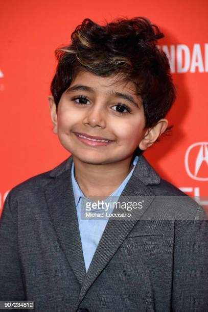 Actor Parker Sevak attends the 'The Kindergarten Teacher' Premiere during the 2018 Sundance Film Festival at Park City Library on January 19 2018 in...