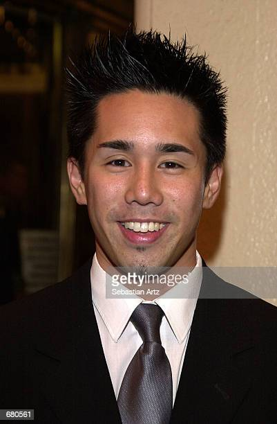 Actor Parry Shen arrives at the Second Annual AMMY Awards For Asian American Entertainment November 10 2001 in Los Angeles CA