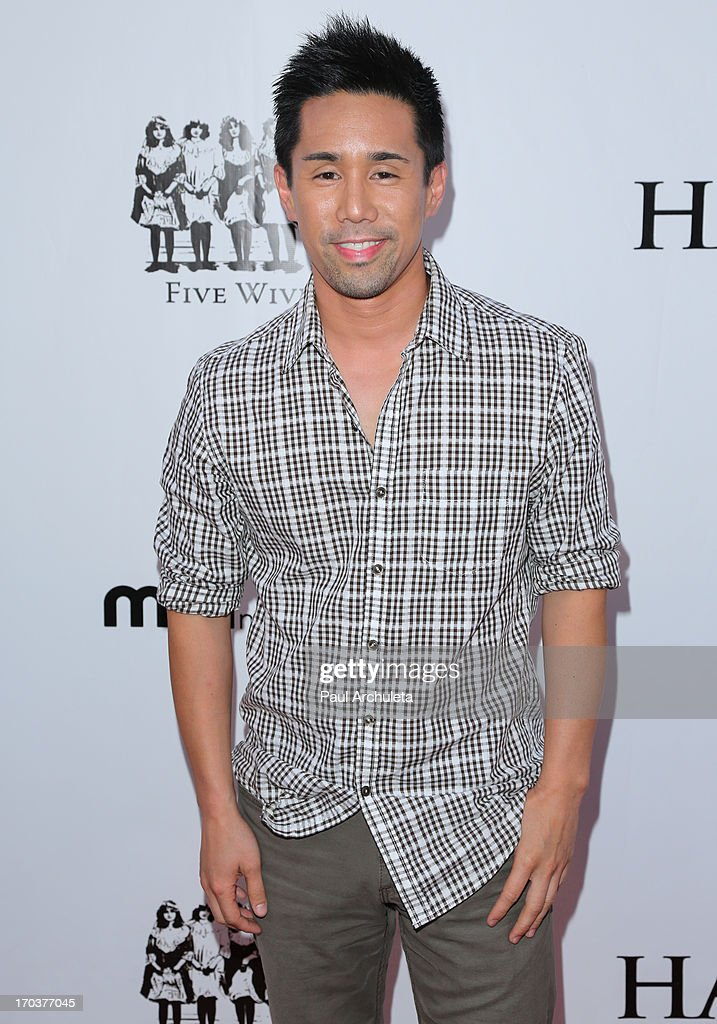 Actor Parry Shen attends the 'Hatchet II' premiere at the American Cinematheque's Egyptian Theatre on June 11, 2013 in Hollywood, California.