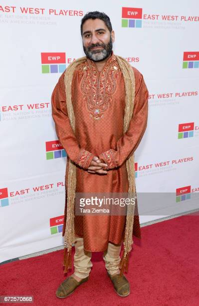 Actor Parvesh Cheena attends the East West Players 'Radiant' 51st Anniversary Visionary Awards and silent auction at Hilton Universal City on April...