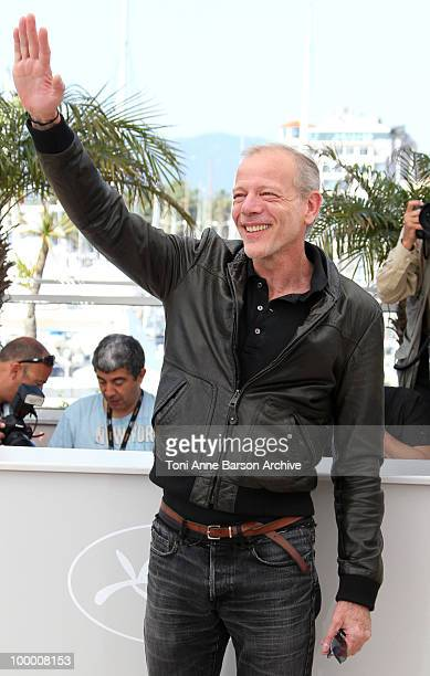 Actor Pascal Greggory attends the 'Rebecca H ' Photo Call held at the Palais des Festivals during the 63rd Annual International Cannes Film Festival...