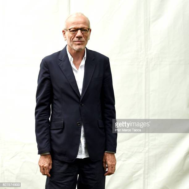 Actor Pascal Greggory poses during the 'Doigts' photocall at the 70th Locarno Film Festival on August 8 2017 in Locarno Switzerland