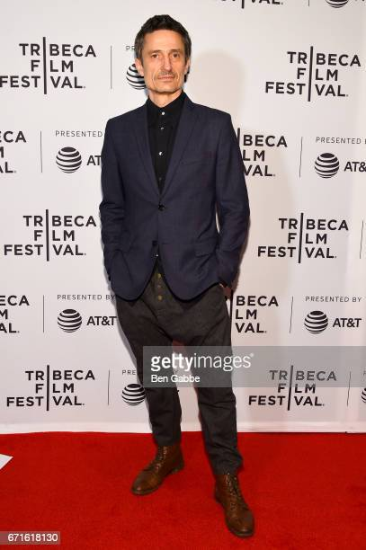 Actor Pascal YenPfister attends the Nobody's Watching Premiere during 2017 Tribeca Film Festival at Cinepolis Chelsea on April 22 2017 in New York...