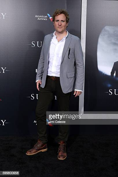 """Actor Patch Darragh attends The New York Premiere of Warner Bros. Pictures' and Village Roadshow Pictures' """"Sully"""" at Alice Tully Hall at Lincoln..."""