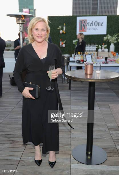 Actor Patricia Arquette attends a celebration for the Alexis Arquette Family Foundation during an intimate dinner hosted by Ketel One Vodka and...
