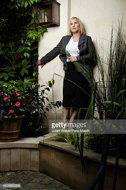 Actor Patricia Arquette is photographed for Paris Match on July 18 2014 in Paris France