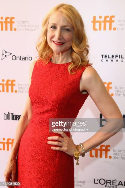 "Actor Patricia Clarkson arrives at the ""Learning To Drive"" Premiere during the 2014 Toronto International Film Festival held at The Elgin Theatre on..."