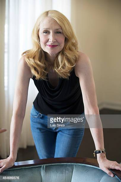 Actor Patricia Clarkson is photographed for Los Angeles Times on July 21 2014 in West Hollywood California PUBLISHED IMAGE CREDIT MUST BE Luis...