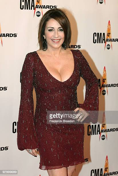 Actor Patricia Heaton attends the 43rd Annual CMA Awards at the Sommet Center on November 11 2009 in Nashville Tennessee