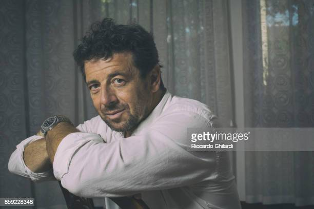 Actor Patrick Bruel is photographed for Self Assignment on September 5 2017 in Venice Italy