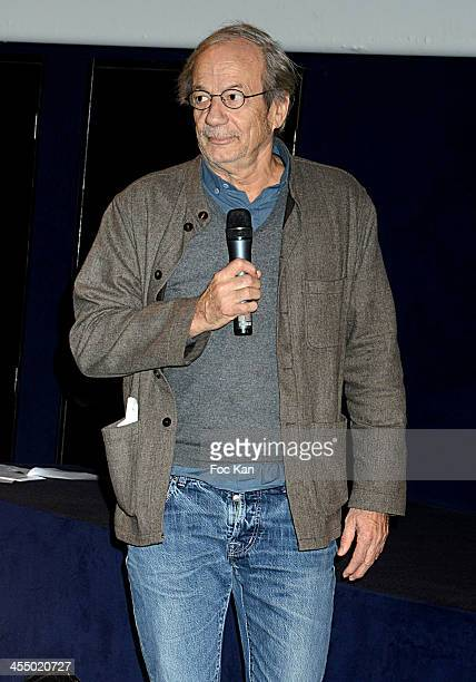 Actor Patrick Chesnais from 'Ferdinand' Anti Alcohol Association attends the 'Ivresse' Guillaume Canet's Short Movie Against Alcohol Premiere hosted...